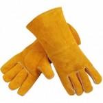 Краги сварщика желтые (1)